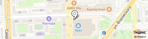 ACCESS на карте Челябинска