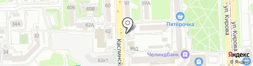 Оргтехника-Сервис на карте Челябинска