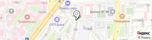 ПЛАНЕТА ДРУЗЕЙ на карте Челябинска
