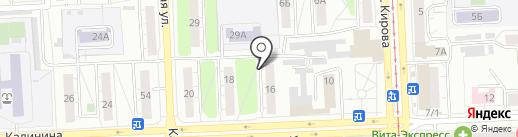 УралТехАвто на карте Челябинска
