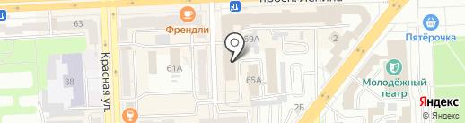 Приоритет на карте Челябинска
