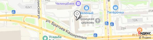 Торгово-монтажная компания на карте Челябинска