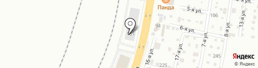BeWife на карте Челябинска
