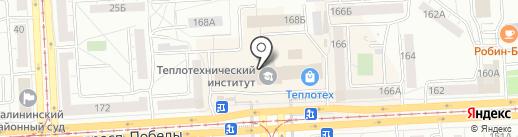Спутниковые технологии на карте Челябинска