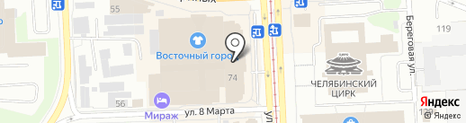 Picture in picture на карте Челябинска