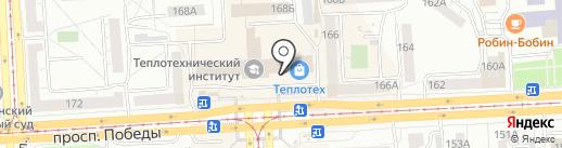 Вкусная лавка на карте Челябинска