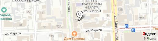 УСПЕХ БИЗНЕСА на карте Челябинска