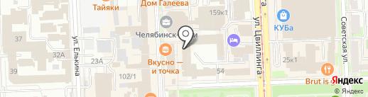 Интернет в дом на карте Челябинска