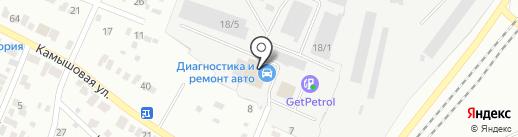Reference на карте Челябинска
