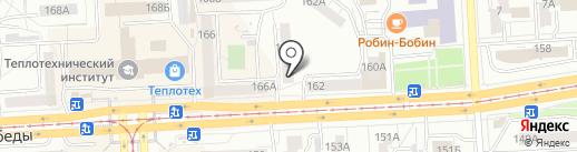 Хороший на карте Челябинска