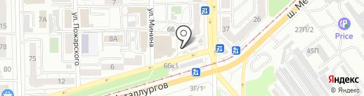 Пирожковая на карте Челябинска