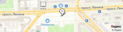 Техно-М на карте Челябинска