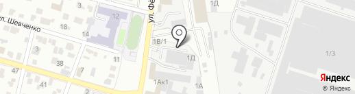 Эвакуатор74 на карте Челябинска