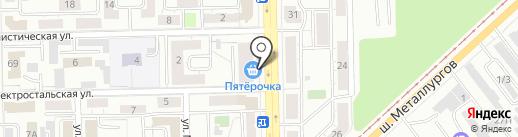 Магазин бижутерии и парфюмерии на карте Челябинска