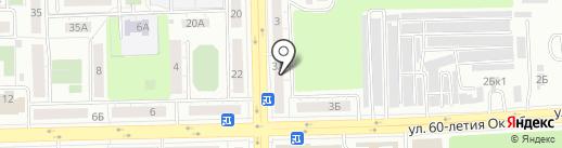 Почта банк, ПАО на карте Челябинска