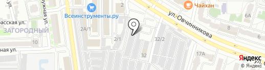 Автобот на карте Челябинска
