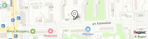 БИНБАНК, ПАО на карте Челябинска