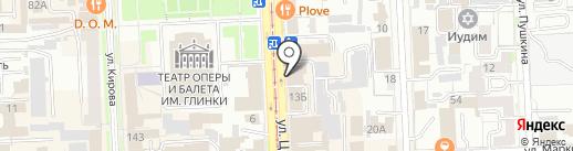 Военный комиссариат Челябинской области на карте Челябинска