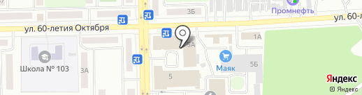 Вьет Во Дао на карте Челябинска