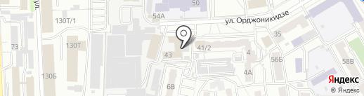 Константа-Сервис на карте Челябинска