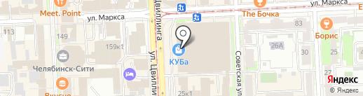 Incity на карте Челябинска