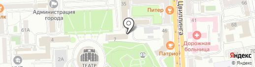 Сервис-Терм на карте Челябинска