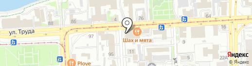 Коммаш-Граз на карте Челябинска