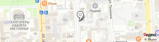 А-Студия на карте Челябинска