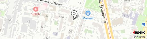 СТАЛЬ на карте Челябинска