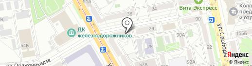 Система Город на карте Челябинска