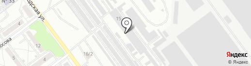 Цверги на карте Челябинска