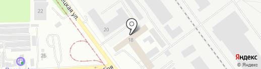 РЕГИОН на карте Челябинска