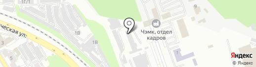 Капитал Строй на карте Челябинска