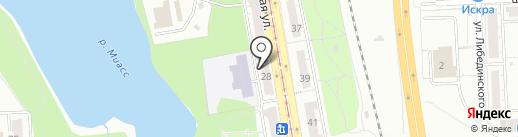 Офис-Сервис на карте Челябинска