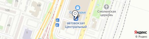 Магазин аксессуаров на карте Челябинска