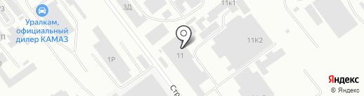ЦВЕТМЕТ Р+ на карте Челябинска