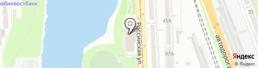Челябинская федерация восточных танцев на карте Челябинска