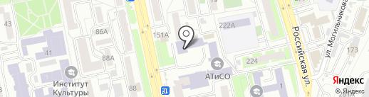 Центр-сервис на карте Челябинска