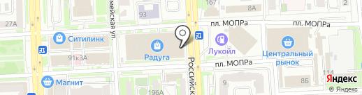 Из леса Башкирии на карте Челябинска