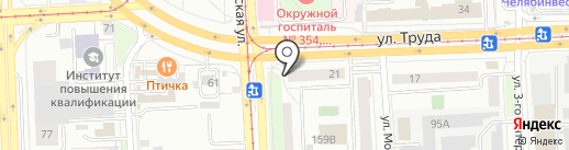 Cartridge. Express на карте Челябинска