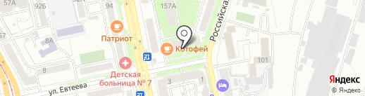 Авиакасса на карте Челябинска