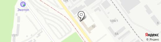 Металлвест на карте Челябинска