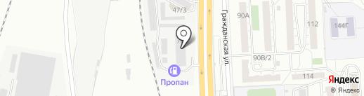 АвтоИнтеллект на карте Челябинска