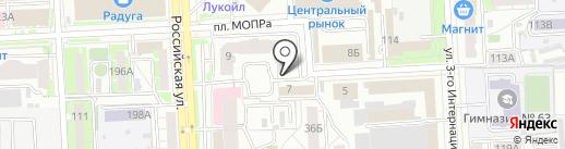 Всякая Всячина на карте Челябинска