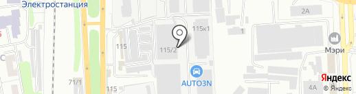 UNIPUMP на карте Челябинска