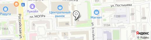 Челябгорэлектросети на карте Челябинска