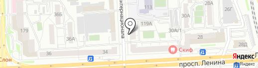 Лига Интеллектуальных Игр на карте Челябинска