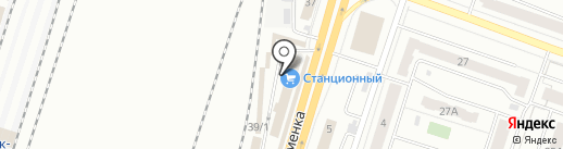 УспехСантех на карте Челябинска