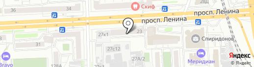 ТОРГПРОМ на карте Челябинска