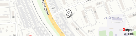 АВТОМИКС на карте Челябинска